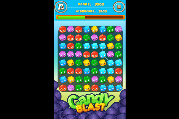 Candy Blast Match 3 Screen Shot