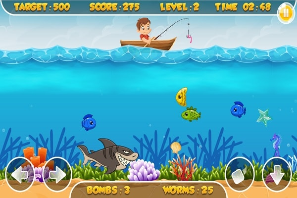 Fishing Frenzy Screen Shot
