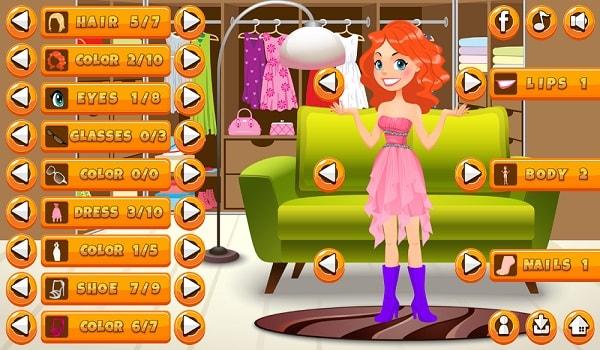 Girl Dress Up Screen Shot