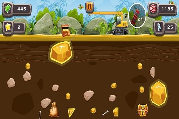 Gold Miner App Screen Shot