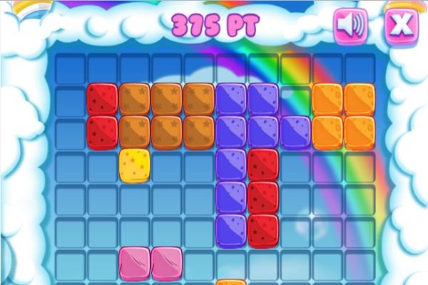 Gummy Blocks Screen Shot