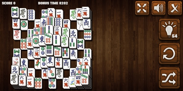Mahjong Deluxe Screen Shot