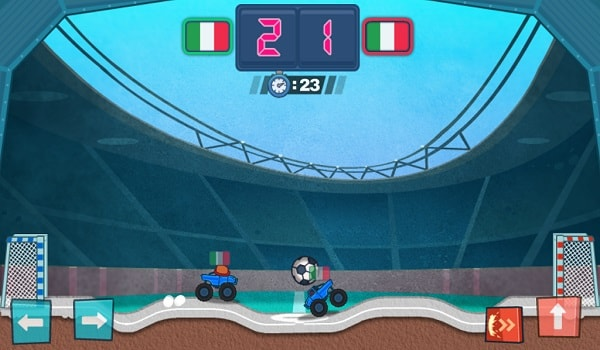 Monstertruck Soccer Screen Shot