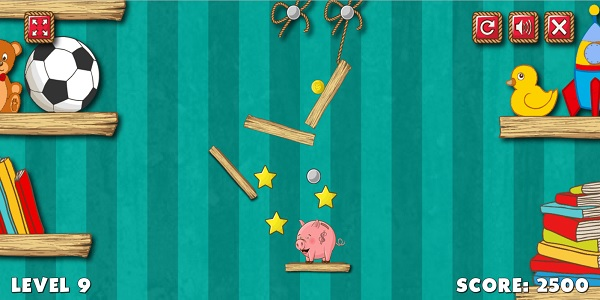 Piggy Bank Adventure Screen Shot