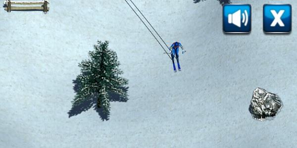 Ski Rush Screen Shot