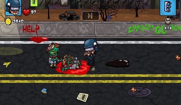 Swat Vs Zombies Screen Shot