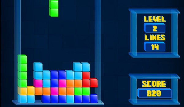 Tetris Cube Screen Shot